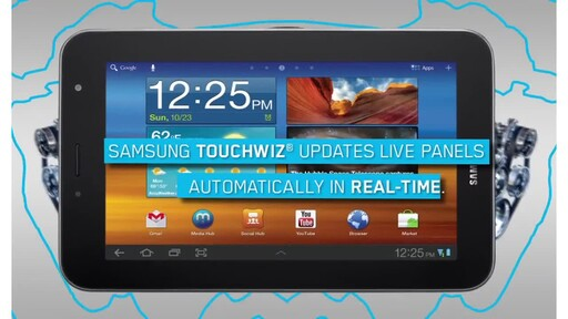 Samsung Galaxy Tab 7.0 Plus - image 5 from the video