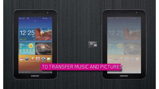 Samsung Galaxy Tab 7.0 Plus - image 7 from the video