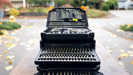 909® Tools 300-Piece Ultimate Super Drill Bit Set - image 10 from the video