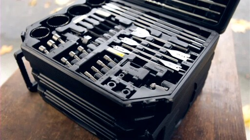 909® Tools 300-Piece Ultimate Super Drill Bit Set - image 2 from the video