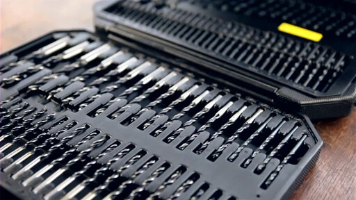 909® Tools 300-Piece Ultimate Super Drill Bit Set - image 6 from the video