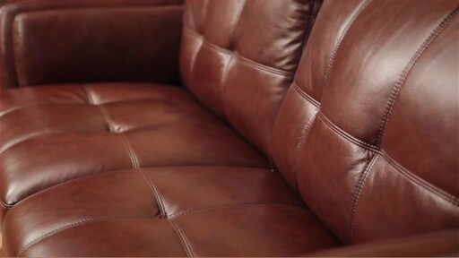 Florentine 3-Piece Top Grain Leather Set - image 10 from the video