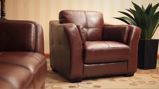 Florentine 3-Piece Top Grain Leather Set - image 2 from the video