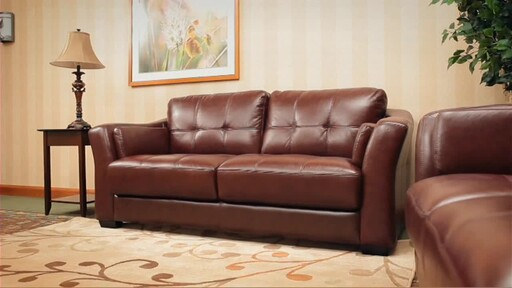 Florentine 3-Piece Top Grain Leather Set - image 6 from the video
