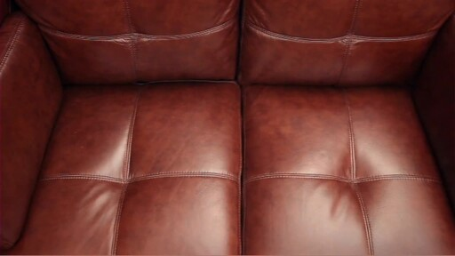 Florentine 3-Piece Top Grain Leather Set - image 8 from the video
