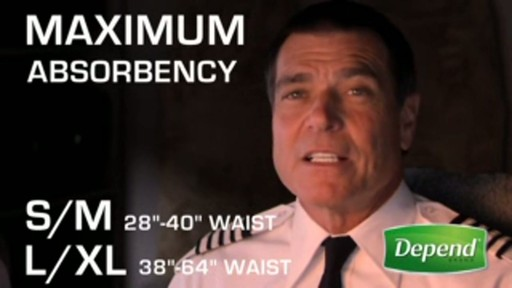 Depend - Protective Underwear for Men  - image 3 from the video