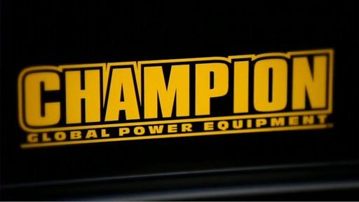 Champion 6,500 Watt Portable Generator  - image 10 from the video