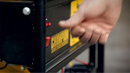 Champion 6,500 Watt Portable Generator  - image 2 from the video
