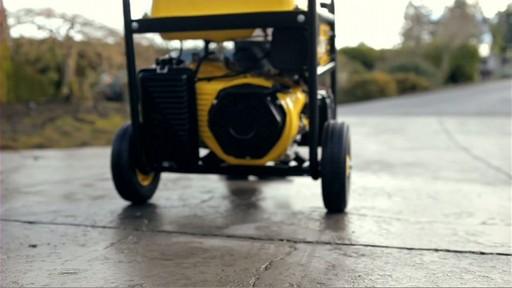 Champion 6,500 Watt Portable Generator  - image 8 from the video