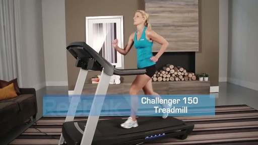 Reebok® Challenger 150 Treadmill - image 10 from the video