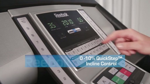 Reebok® Challenger 150 Treadmill - image 3 from the video