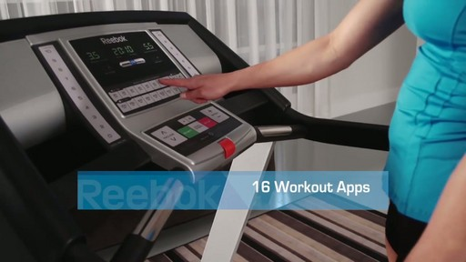 Reebok® Challenger 150 Treadmill - image 4 from the video