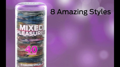 ONE® Condoms Mixed Pleasures™ - image 8 from the video