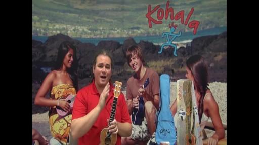 Kohala Koa Concert Ukulele - image 2 from the video
