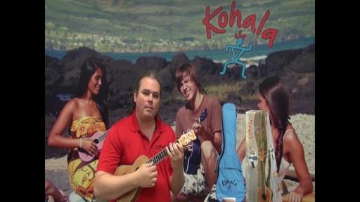 Kohala Koa Concert Ukulele - image 3 from the video