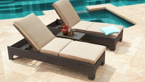 Newport 3 piece Chaise Lounge Set by Mission Hills Patio