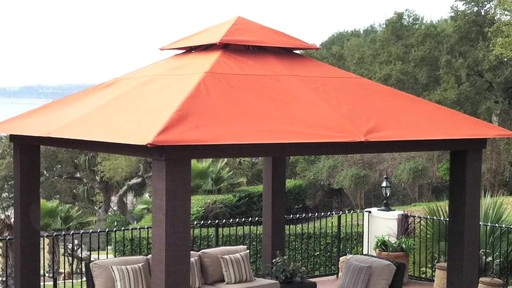 Seville 12 X 12 Soft Top Gazebo 187 Outdoor Structures
