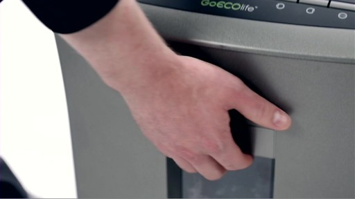 GOEcolife 12-Sheet Crosscut Shredder - image 4 from the video