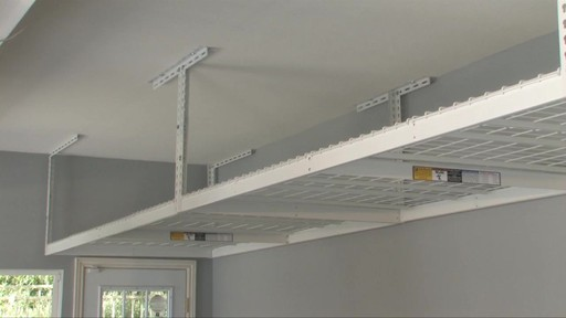 SafeRacks 4'x8' Overhead Garage Storage Rack - image 2 from the video