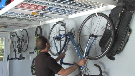SafeRacks 4'x8' Overhead Garage Storage Rack - image 5 from the video