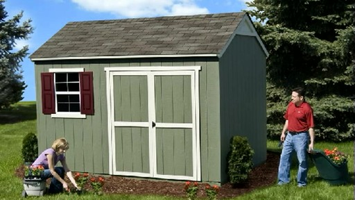 Burlington 12' x 8' Storage Shed - image 1 from the video