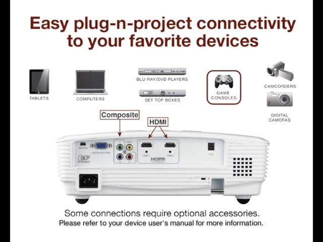 Optoma HD180 1080p Home Theater Projector - image 5 from the video