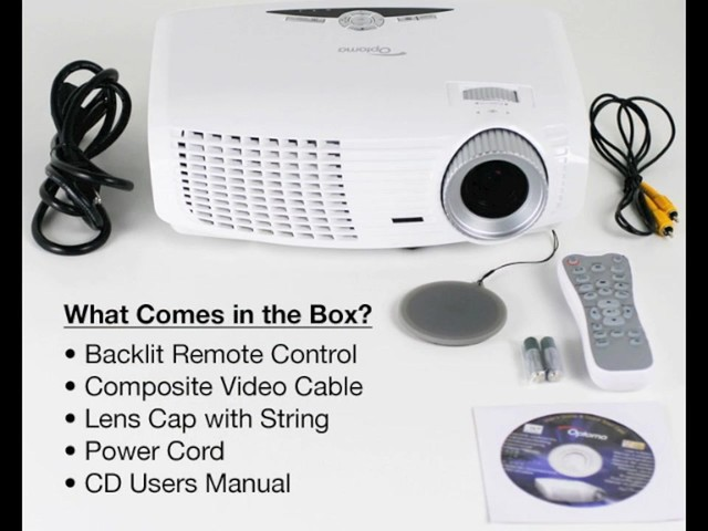 Optoma HD180 1080p Home Theater Projector - image 7 from the video