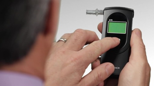 BACtrack S78 Pro Breathalyzer Alcohol Tester - image 8 from the video