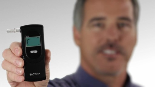 BACtrack S78 Pro Breathalyzer Alcohol Tester - image 9 from the video