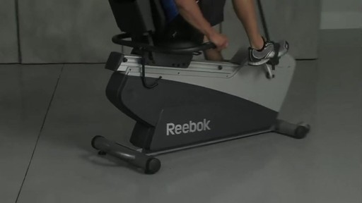 Reebok® Recumbent SpinTrainer RX 4.0 - image 1 from the video