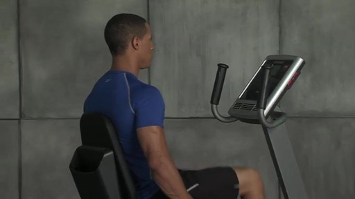 Reebok® Recumbent SpinTrainer RX 4.0 - image 5 from the video