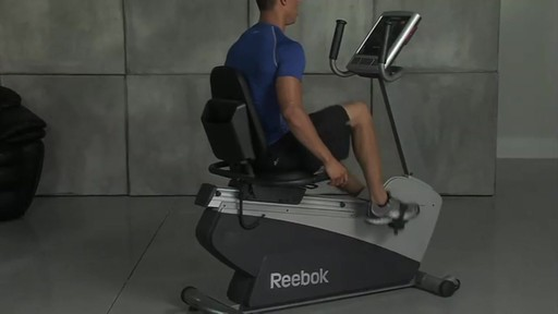 Reebok® Recumbent SpinTrainer RX 4.0 - image 7 from the video