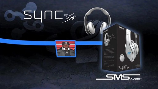 SMS Audio SYNC by 50 Black Over-Ear Wireless Headphones - image 1 from the video