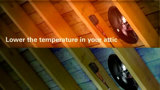 Solar Powered Attic Fan - image 3 from the video