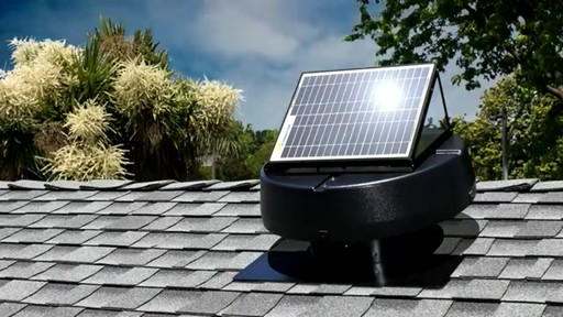 Solar Powered Attic Fan - image 6 from the video