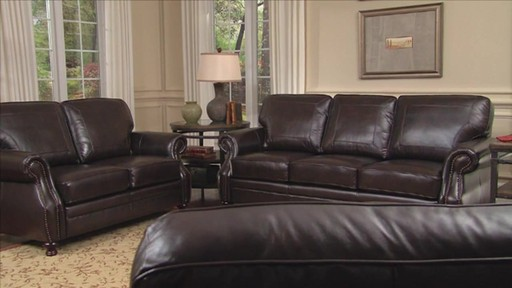 Beckett 4 Piece Top Grain Leather Set Video Gallery