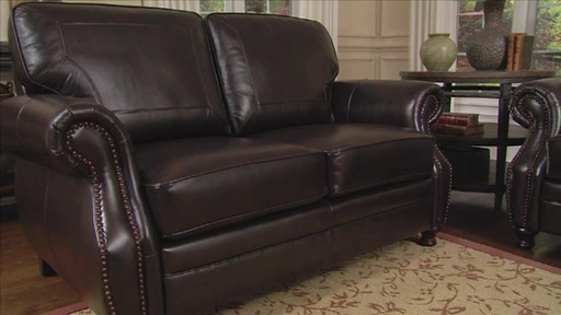 Beckett 4 Piece Top Grain Leather Set Welcome To Costco Wholesale