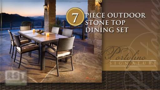 Portofino Signature 7 Piece Dining Set 187 Welcome To Costco
