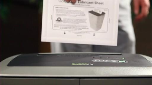 GoECOlife 18-Sheet Cross-cut Shredder - image 7 from the video