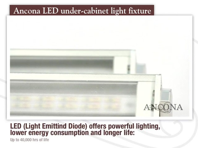 Ancona LED Under Cabinet Light Fixture - image 1 from the video