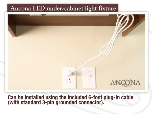 Ancona LED Under Cabinet Light Fixture - image 10 from the video