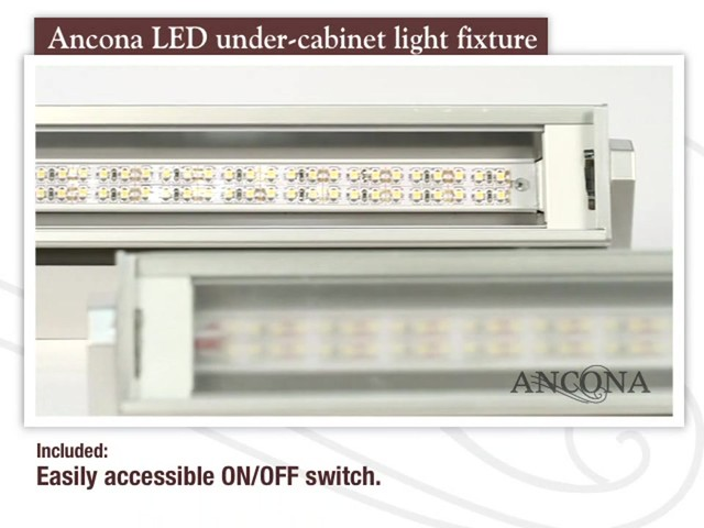 Ancona LED Under Cabinet Light Fixture - image 2 from the video