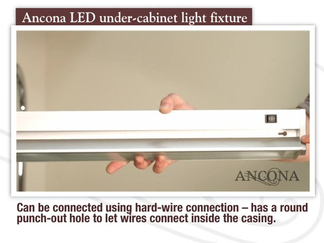 Ancona LED Under Cabinet Light Fixture - image 6 from the video