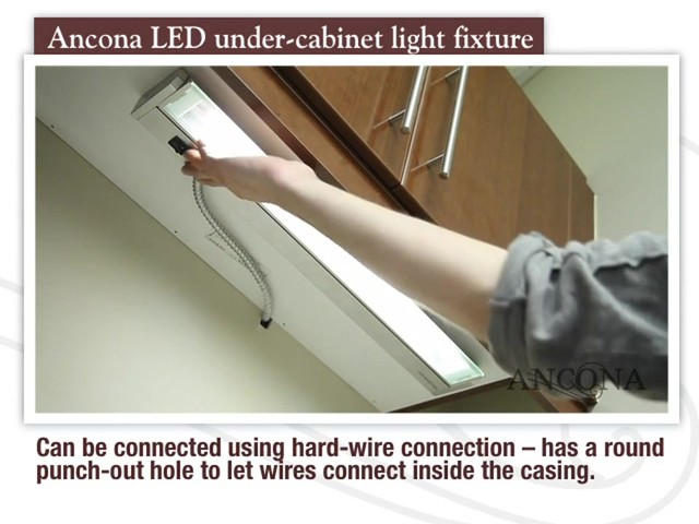 Ancona LED Under Cabinet Light Fixture - image 7 from the video