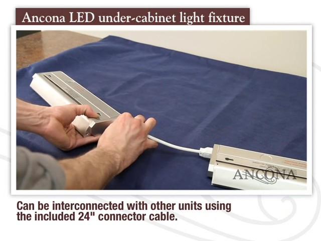 Ancona LED Under Cabinet Light Fixture - image 8 from the video