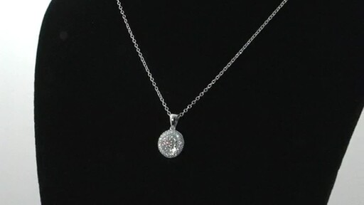 Round Diamond Necklace Jewelry Video Gallery