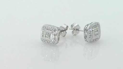 Diamond Earrings Diamond Cluster Earrings Costco