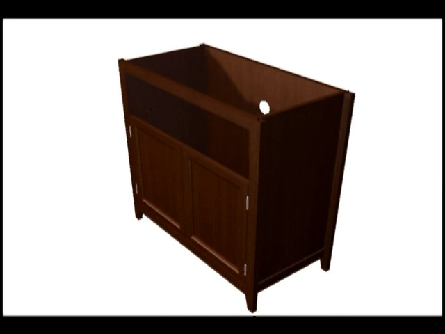 Model 9004 Highboy TV Stand  - image 4 from the video