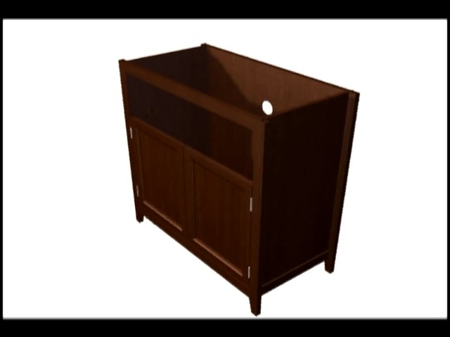 Model 9004 Highboy TV Stand  - image 5 from the video