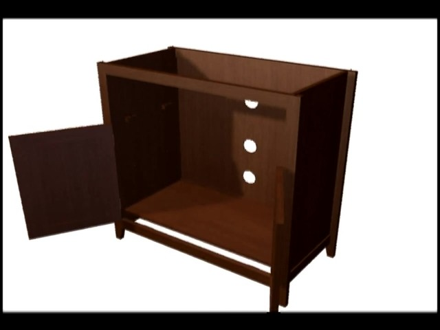 Model 9004 Highboy TV Stand  - image 6 from the video